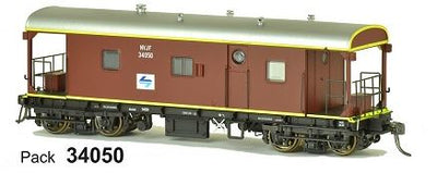 SDS Models: Guards Van: NVJF L7: Pack 34050