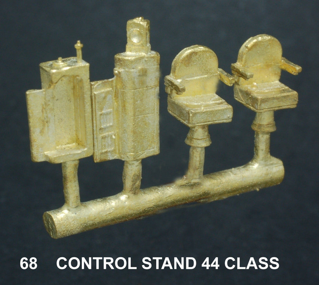Ozzy Brass:  68 Diesel Locomotive Driver Control Stand NSWGR 44 Class #68
