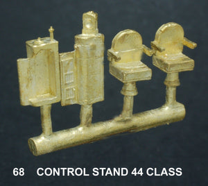 Driver Control Stand NSWGR 44 Class #68 Ozzy Brass : Diesel Locomotive
