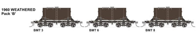 RRP $185 Save $60: BMT SDS Models: NSWGR: BMT Milk Tank Car: 1960 Weathered Pack B SPECIAL PRICE $145  R.R.P.$189