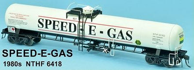 GAS SDS Models: NSWR: Speed-E-Gas 1980s NTHF 6418 LPG Rail Tank Car: Single Pack: #015