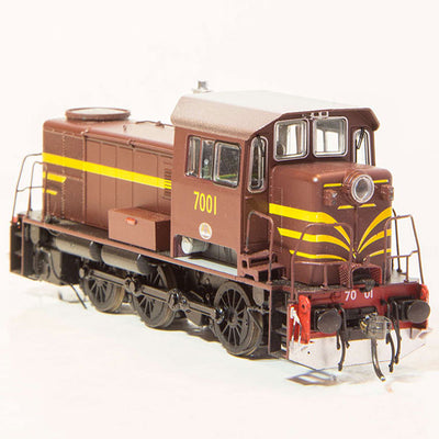 7001 IDR Models: 70 CLASS NSWGR LOCOMOTIVE INDIAN RED 7001