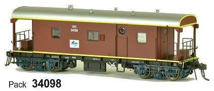 SDS Models: Guards Van: UHG L7: Pack 34098