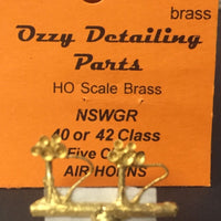 Air Horns NSWGR 40 Class Locomotive  Ozzy Brass  #71