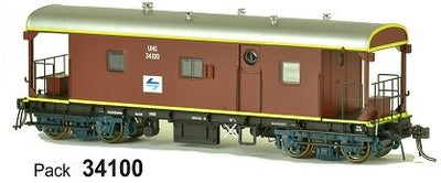 JHG - UHG SDS Models: Guards Van: UHG34100 with L7 Logo