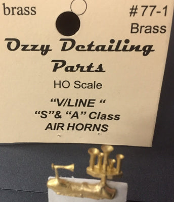 Air Horns V/Line S & A Class Locomotive Ozzy Brass #77.1
