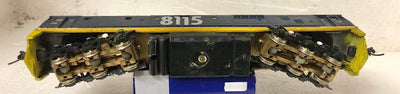 81 class-2ND HAND - K&M Brass Chassis fitted to Powerline 81 Body Freight Rail Blue 8115 LOCOMOTIVE