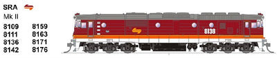 SDS MODELS 8109 Class Mk 11- SRA CANDY Non Sound Version: In Production - Arriving end of 2020
