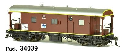 JHG - UHG SDS Models: Guards Van: UHG34039 with L7 & PT Waratah Unit Coal Work Only