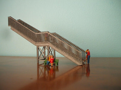 M00081 Kit NSWGR Overhead Footbridge hand railings  Laser Cut
