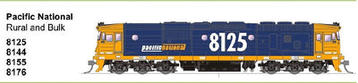 SDS MODELS 8176 Class Pacific National Rural & Bulk Non Sound Version: In Production - Arriving end of 2019
