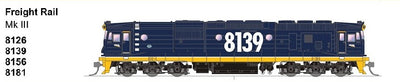 SDS MODELS 8181 Class Mk III Freight Rail Blue Non Sound Version: In Production - Arriving end of 2019