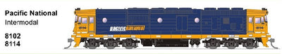 SDS MODELS 8102 Class Pacific National Intermodal Non Sound Version : In Production - Arriving end of 2020