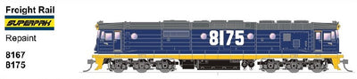 SDS MODELS 8167 Class Repaint Freight Rail SUPERPAK  Non Sound Version: In Production - Arriving end of 2019