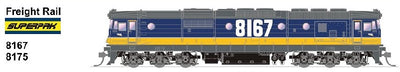 SDS MODELS 8175 Class Freight Rail SUPERPAK  Non Sound Version: In Production - Arriving end of 2019