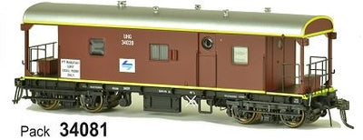 JHG - UHG SDS Models: Guards Van: UHG34081 with L7 & PT Waratah Unit Coal Work Only