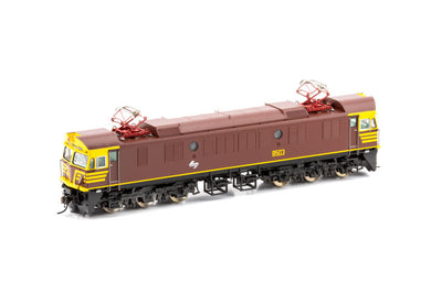 85-4 DC No 8510 Indian Red Auscision Models 85 class NSWR Electric Locomotive