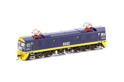 AUSCISION 85 Class 85-12 SOUND DCC No 8507 Class Auscision Models FreightCorp Blue with Ditchlights NSWR Electric Locomotive