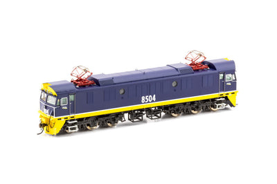 85 class Auscision Models: 85-9S SOUND 8504 Freight Rail Blue & Yellow with small