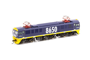 AUSCISION 86 Class #86-18 DC MODEL 8650 Tri-Bogie FreightCorp Blue Auscision Models 86 class NSWR Electric Locomotive. *