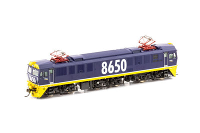 AUSCISION 86 Class 86-17SOUND  DCC MODEL 8650 Tri-Bogie Freight Rail Blue  86 class NSWR Electric Locomotive.