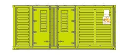 1 AA SDS Models: Pack D : VC COD TRANSPORT Container 20' : Each pack has three individually numbered containers ON SALE 11.