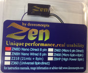 MRC: DCC CONCEPTS: DCD-ZN8D Zen NANO 8 Pin Direct 4 Function w/Stay Alive