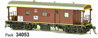 SDS Models: Guards Van: NVUF L7 PT Waratah Unit Coal Work Only: Pack 34053