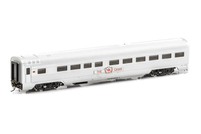AUSCISION - APS-18  The Ghan Passenger Cars - The Ghan Mk5 (2008 Present) Red. Three car set