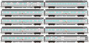 AUSCISION - APS-5  Indian Pacific® MK3 - 10 Car Set, 2003-2008 Era