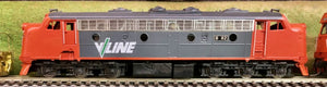 "Brass Models: B Class By Australian Locomotive Company: Vic, Railways V/Line ""B"" Class Diesel Locomotive."