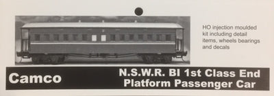 "CAMCO ""BI"" 1st class Open End Passenger Car Kit of the N.S.W.G.R. HO scale"