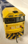 BL class-2ND HAND - AUSTRAINS BL34 PACIFIC NATIONAL LOCOMOTIVE IN VERY GOOD CONDITION