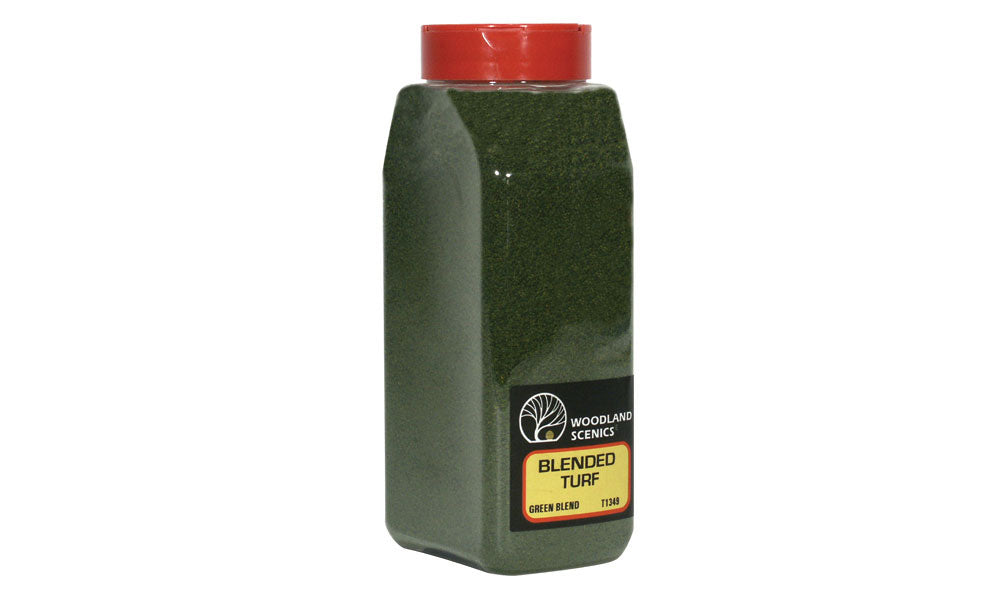 Woodland Scenics: T1349 BLENDED TURF - GREEN