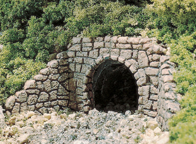 Woodland Scenics: C1264 TWO RANDOM STONE CULVERTS - HO SCALE