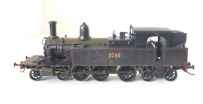 D122 BRASS MODELS: WHITE METAL CASULA HOBBIES RTR MODEL C30 TANK LOCOMOTIVE 3088