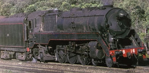 C3820 BLACK SOUND Pre-orders/price lay-by welcome Eureka Models Non Streamlined Steam Locomotive DCC with  sound of the NSWGR Approx delivery October 2019