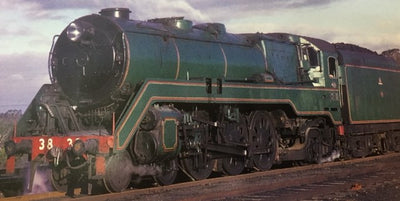 C3827 GREEN SOUND Pre-orders/price lay-by welcome Eureka Models Non Streamlined Steam Locomotive DCC with  sound of the NSWGR Approx delivery October 2019