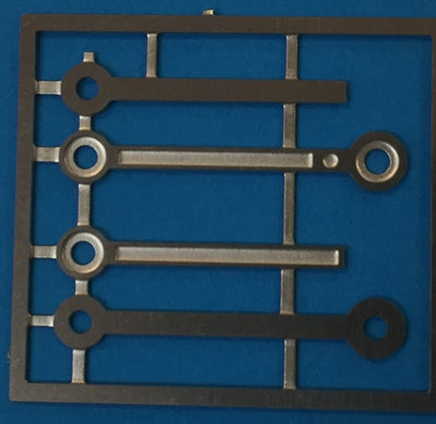 GORDON EUREKA replacement 38 class Side-rods Etch Nickle Silver.