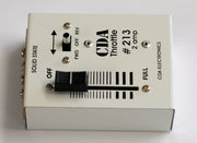 CDA: #213 2 Amp  DC Throttle train controller