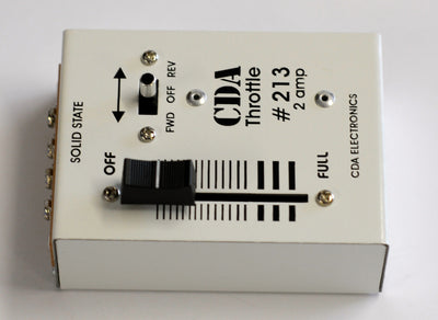 CDA: #213 2 Amp  DC Throttle controller
