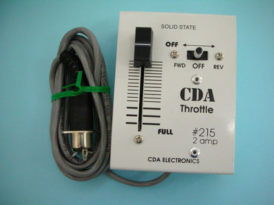 CDA: #215 2 Amp Handheld DC Throttle controller