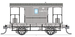 Phoenix: CHG-10, SMR COAL BRAKE VAN No 42. now ALMOST SOLD OUT.