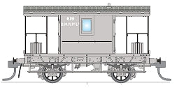 Phoenix: CHG-12, SMR COAL BRAKE VAN No 619.