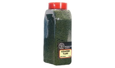 Woodland Scenics: T1365 COARSE TURF - DARK GREEN