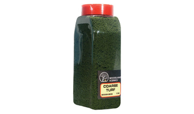 Woodland Scenics: T1364 COARSE TURF - MEDIUM GREEN