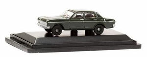 Road Ragers: 1966 XR Seda: Zircon Green, HO Car. die-cast