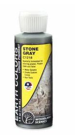 Woodland Scenics: C1218 EARTH COLORS STONE GREY 4OZ