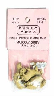 Kerroby Models: H04 MURRAY GREYS ASSORTED POSES (10)painted