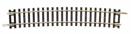 Peco: ST-238 HO CODE 100 SPECIAL CURVE FOR ST-247 HO SET TRACK (1 length)
